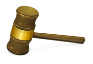 judge's gavel legal