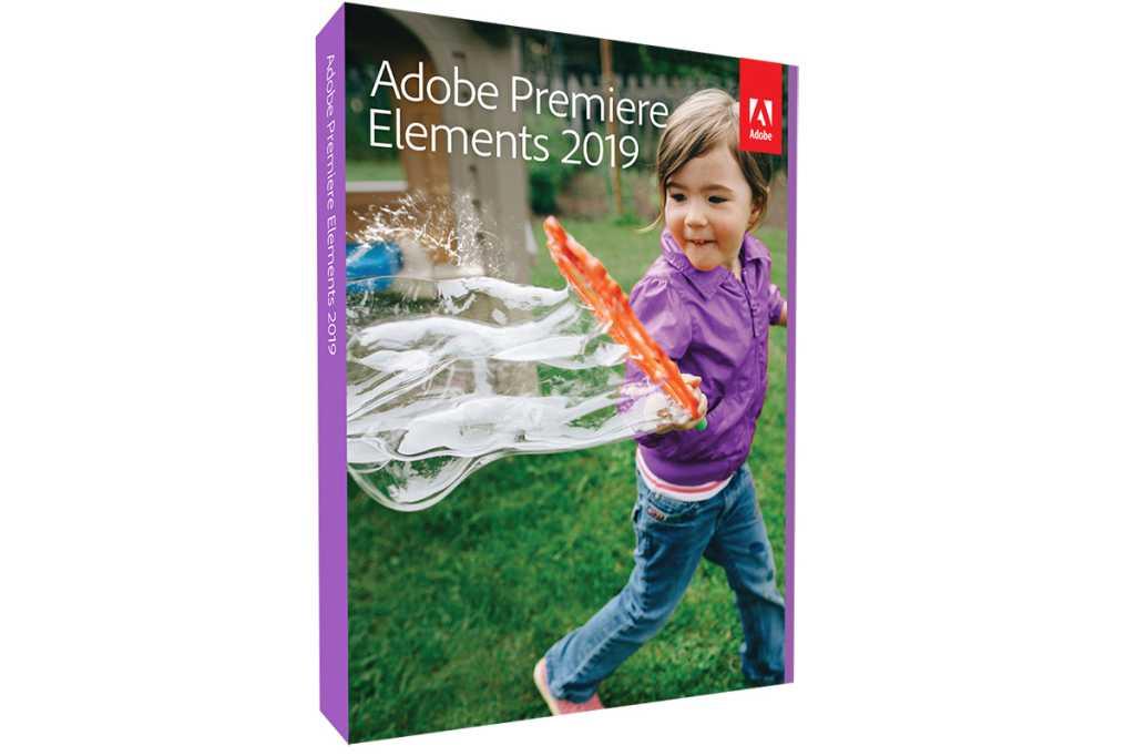 adobe premiere elements 2019 box