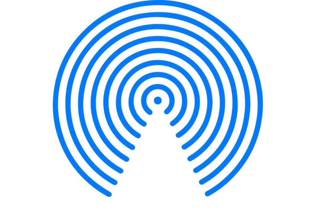 airdrop icon mac