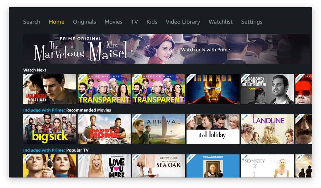 amazon prime video apple tv 1