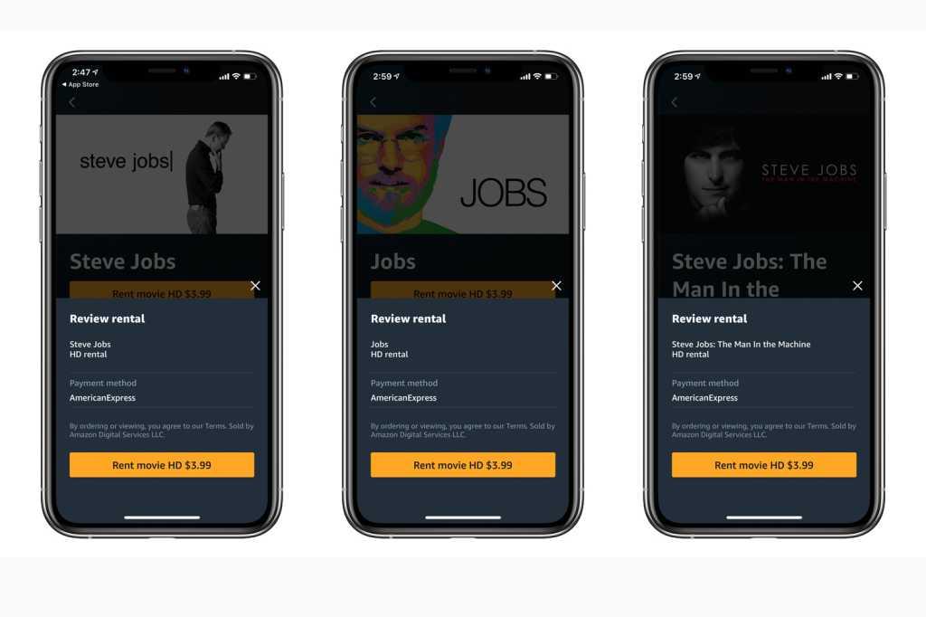 amazon prime video iphone 2020 jobs