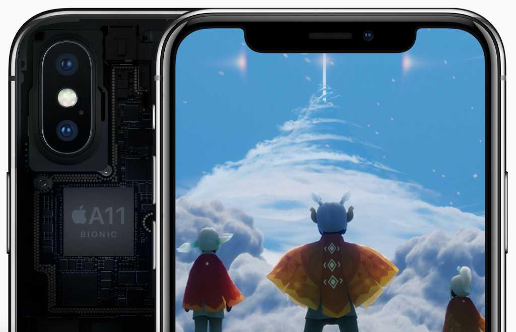apple a11 bionic chip