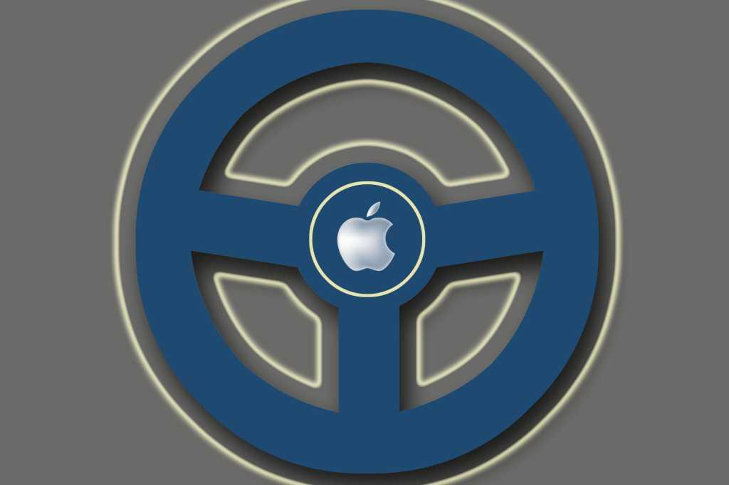 apple car steering wheel 2