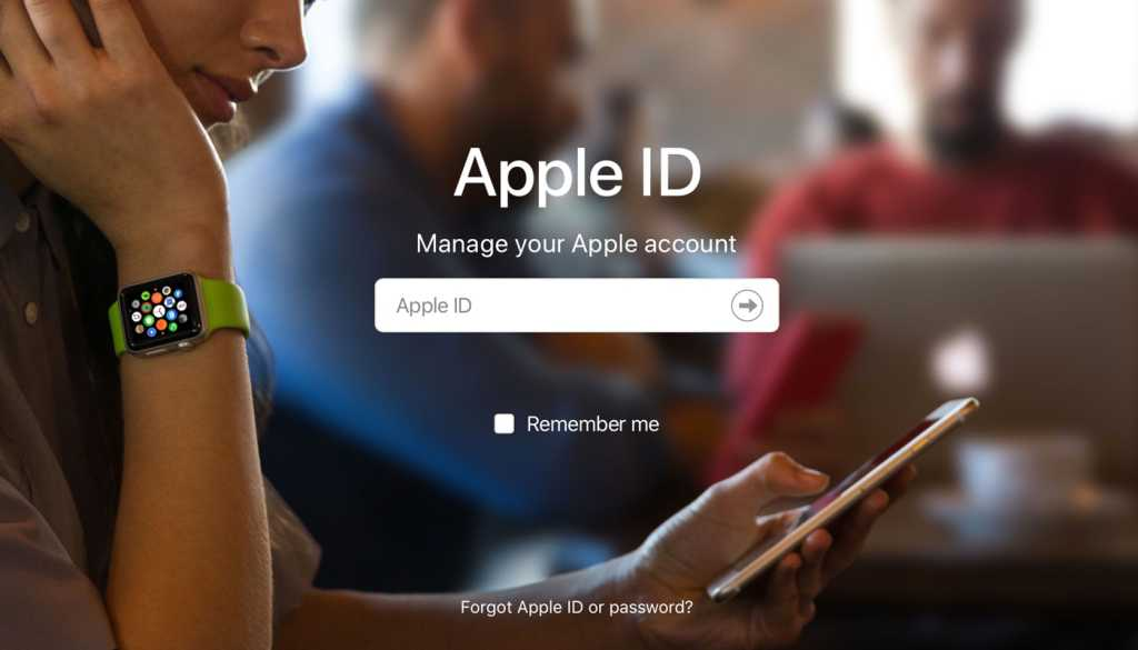 apple id login page