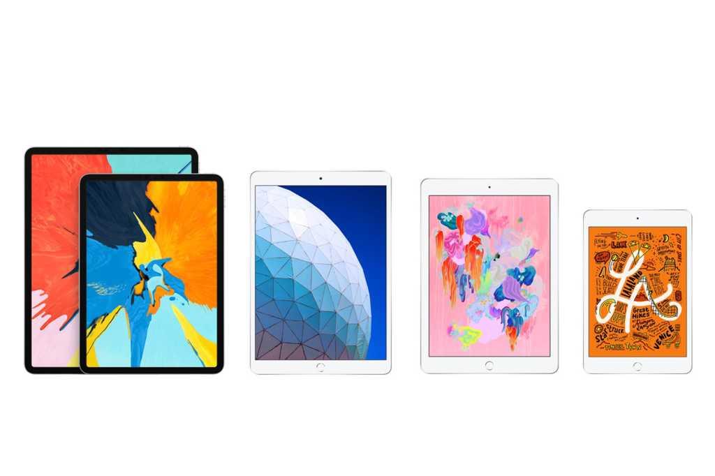 apple ipad family 2019