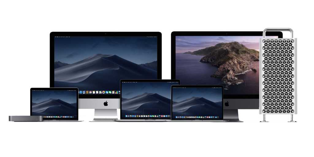 apple mac lineup 2020