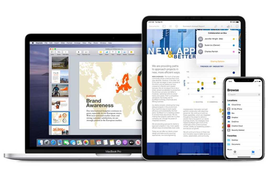 apple macbook ipad iphone 2020