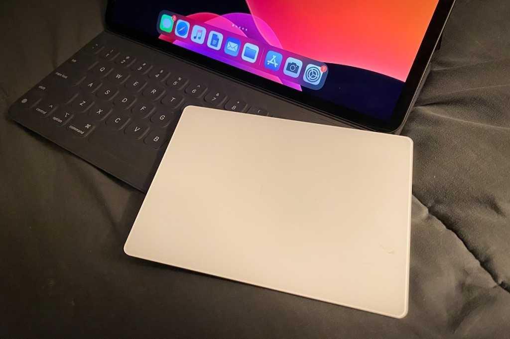 apple magic trackpad ipad