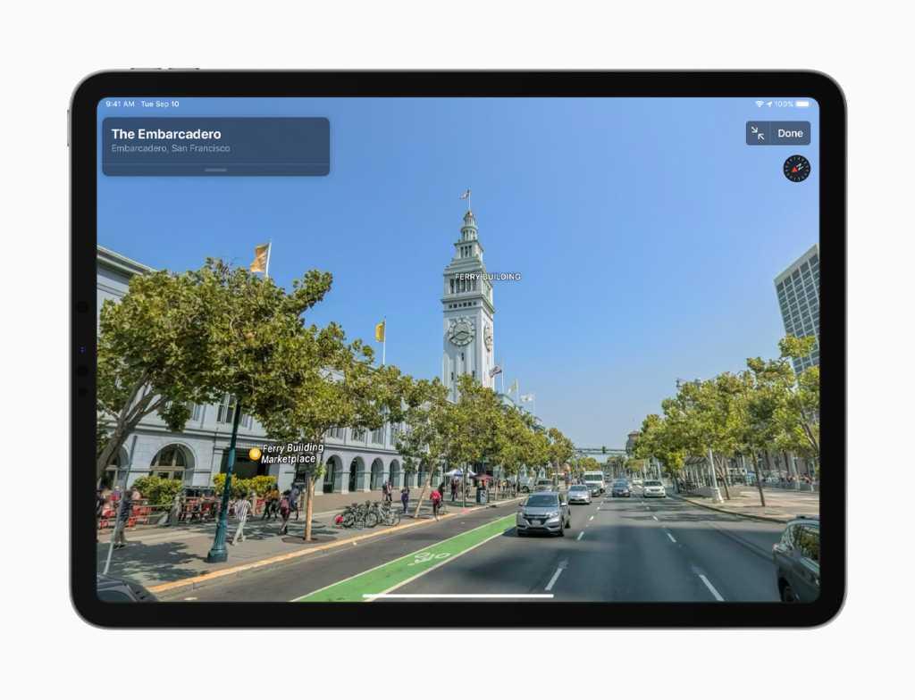 apple maps lookaround update
