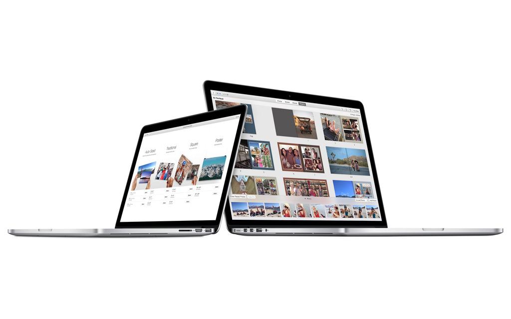 apple photos laptop stock