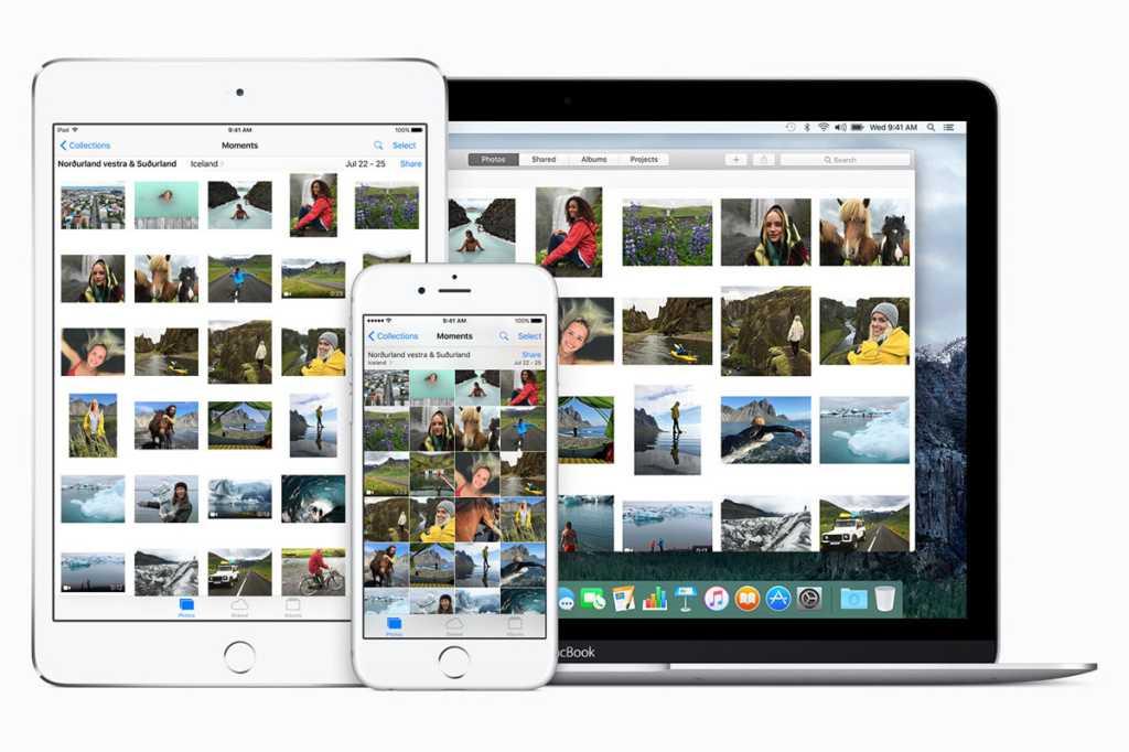 apple photos stock