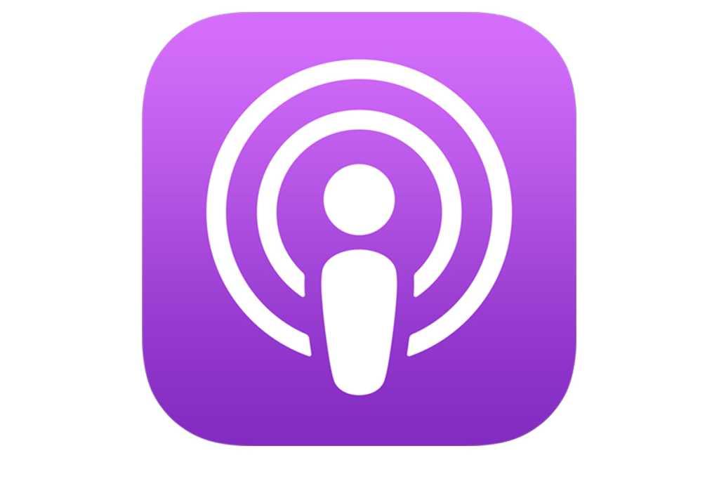apple podcast ios icon