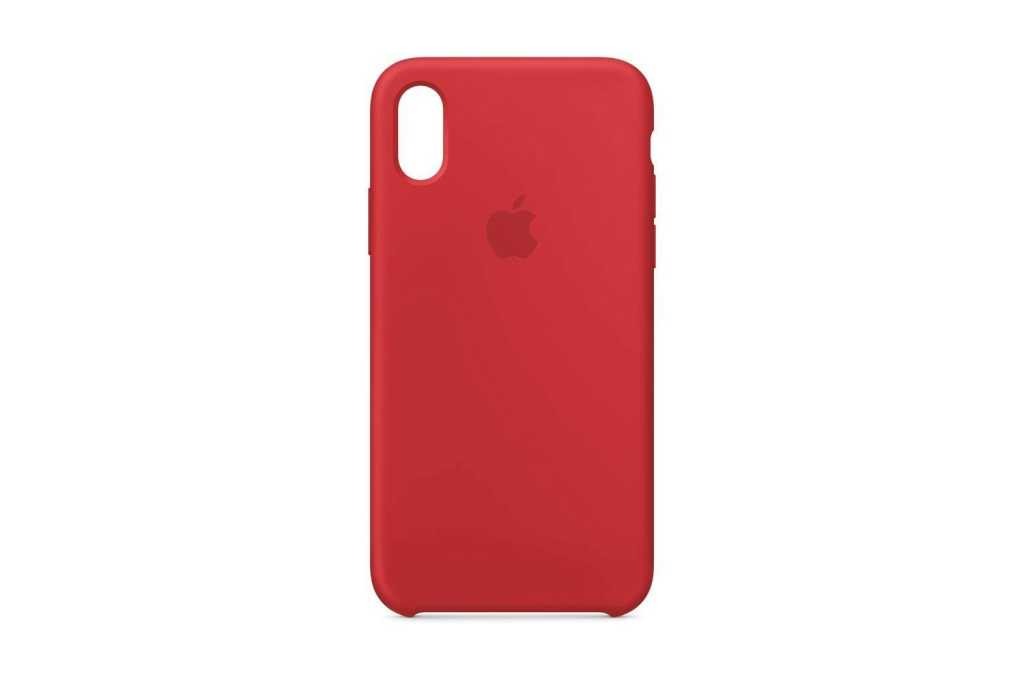 apple silicone case iphone x product red