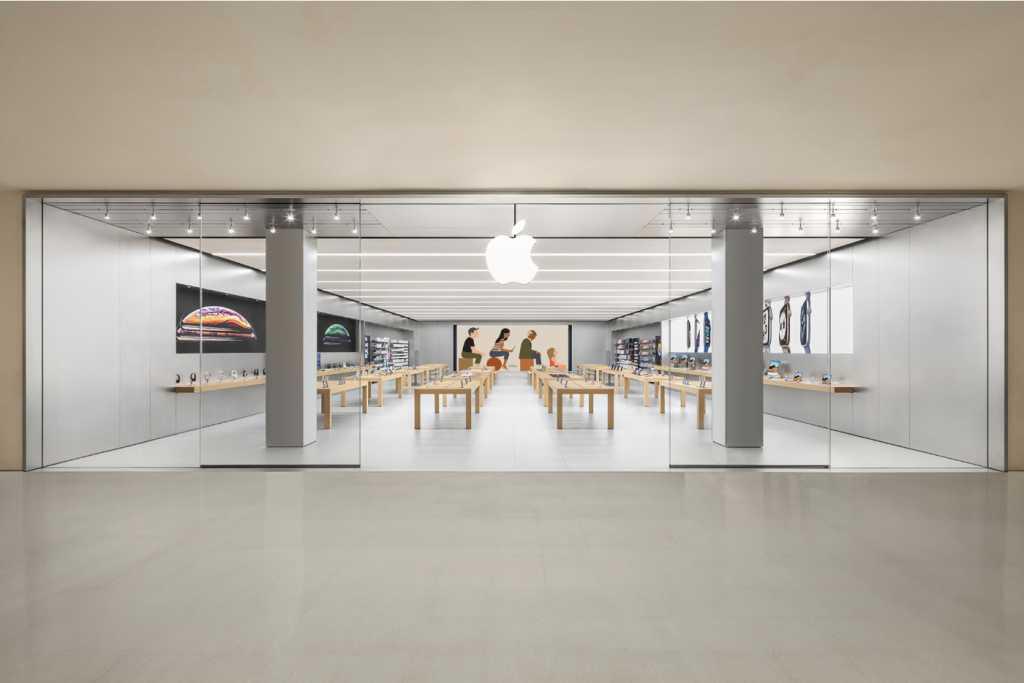 apple store logo brazil