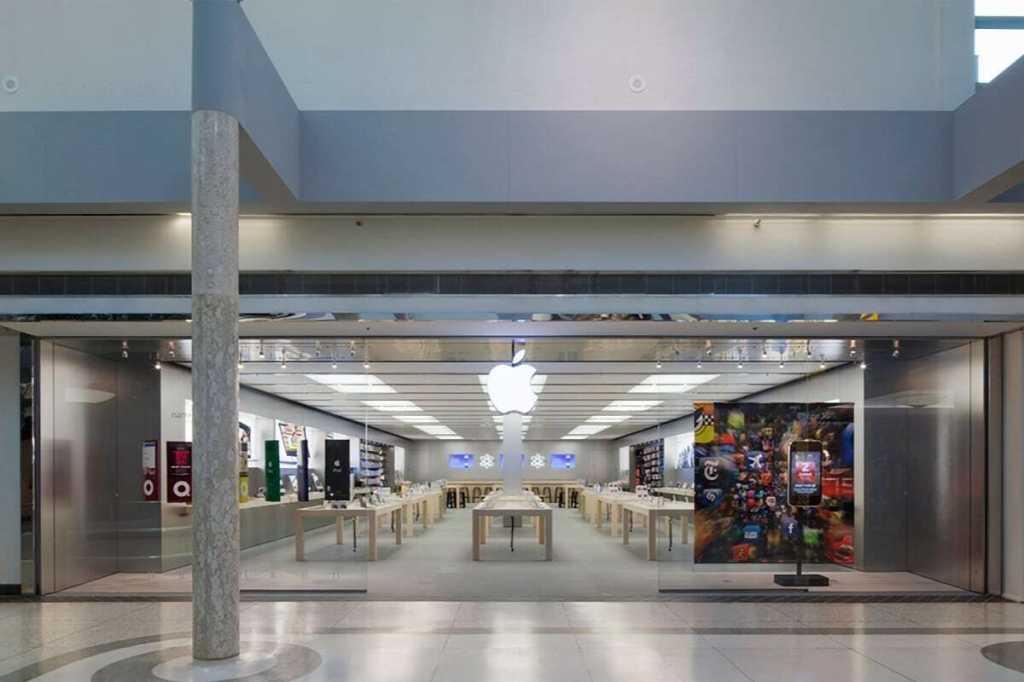 apple store logo oakridge centre