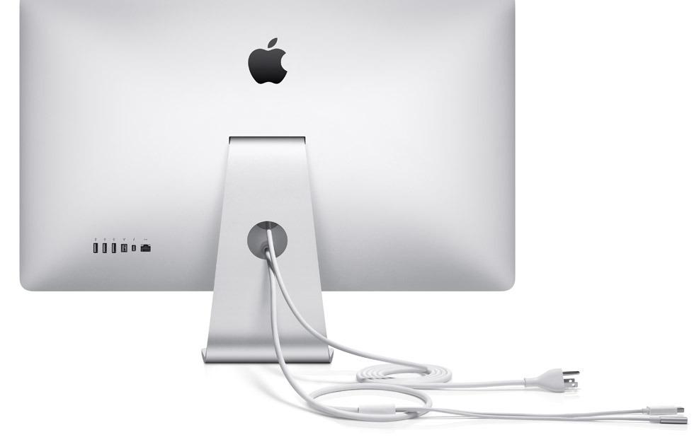 apple thunderbolt display back