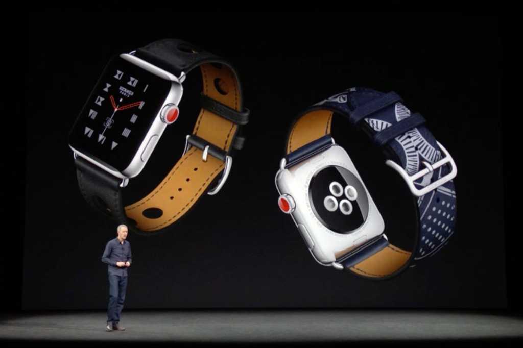 apple watch 3 sept2017 event