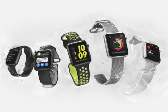 apple watch series 2 nike waterproof