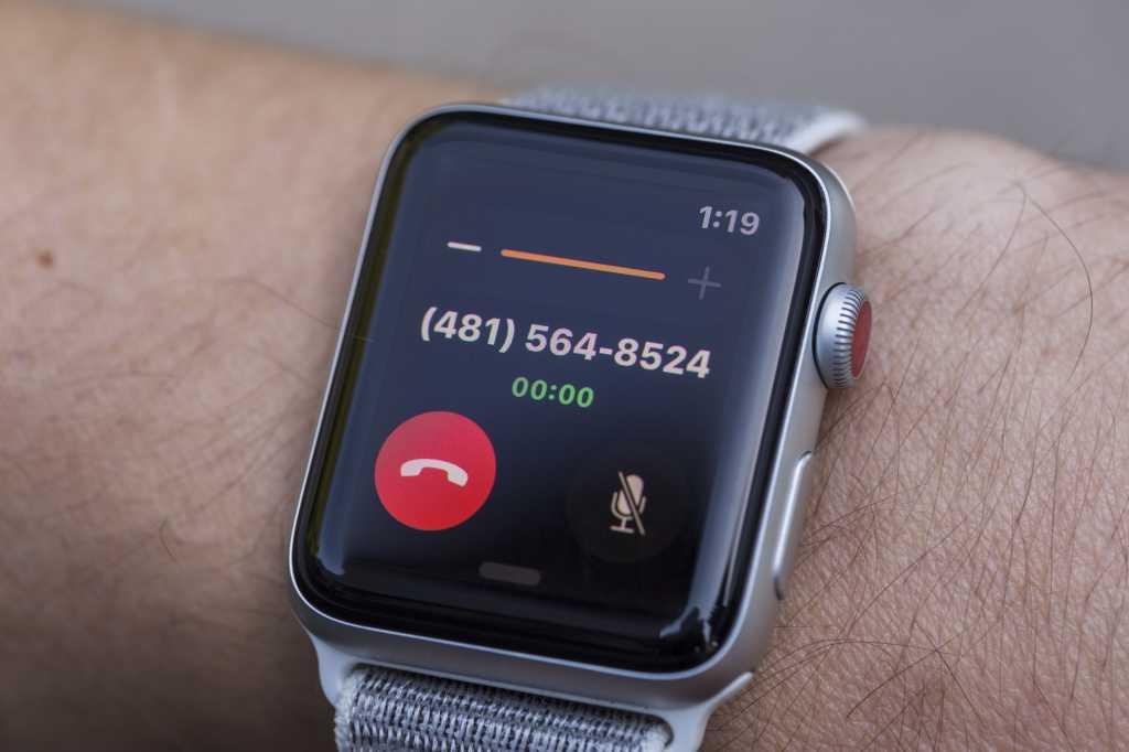 apple watch series 3 call