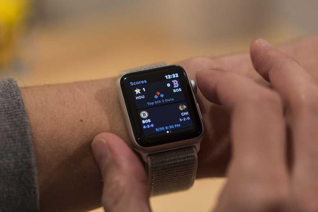 apple watch series 3 espn