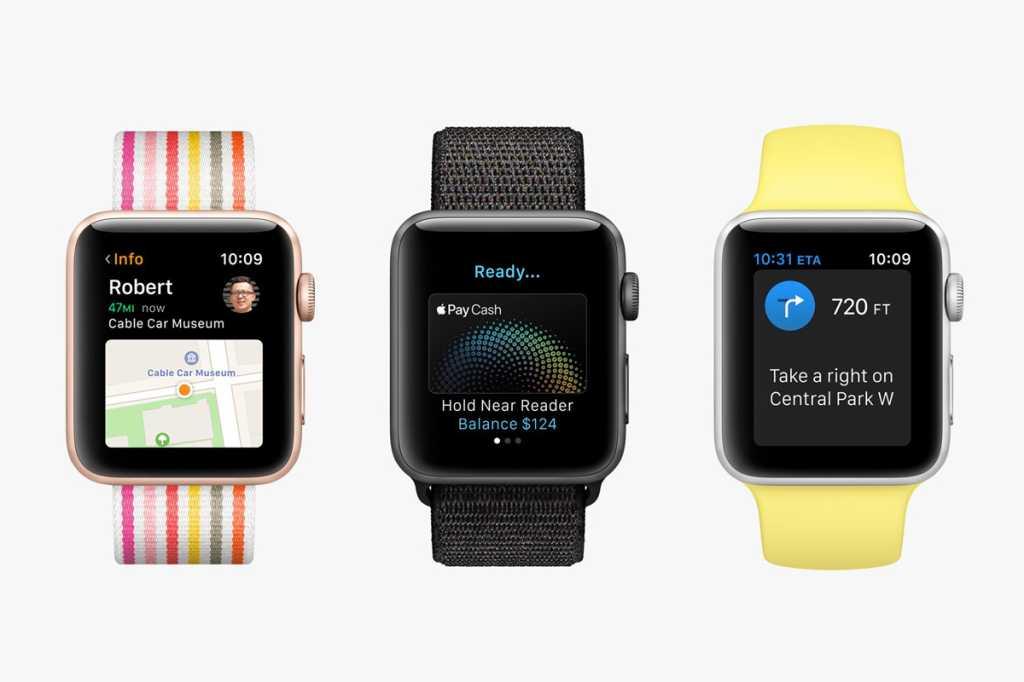 apple watch series 3 stock trio