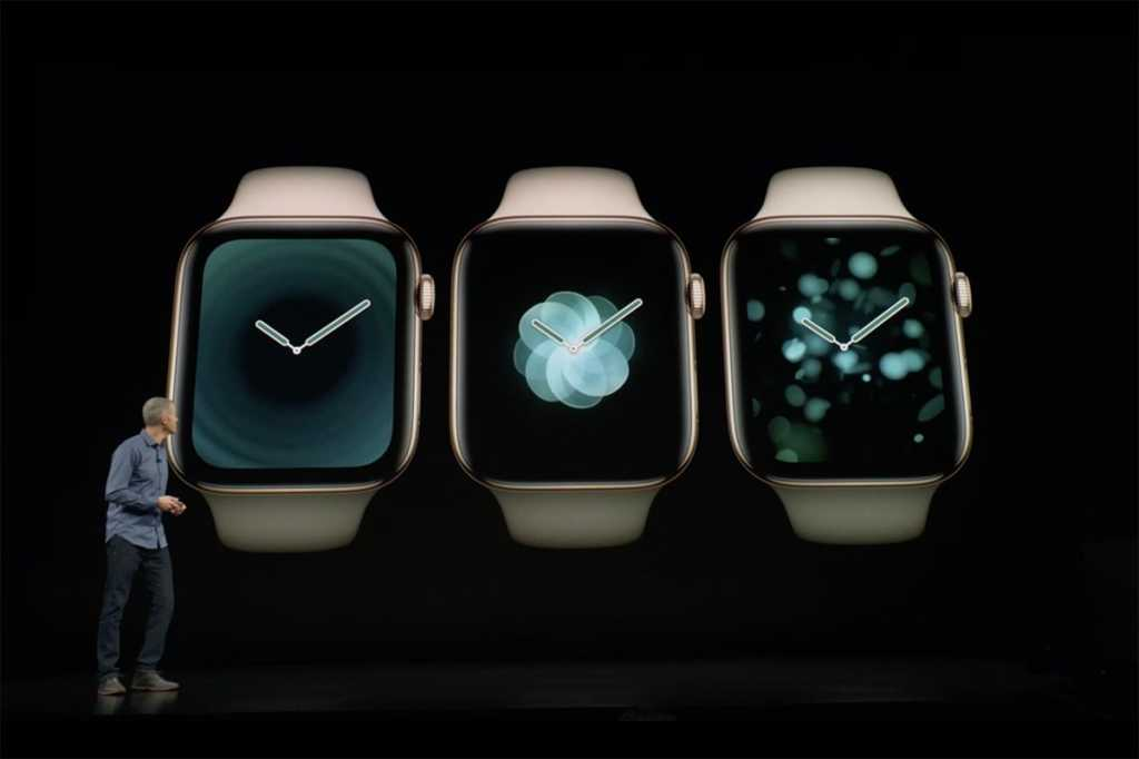 apple watch series 4 faces