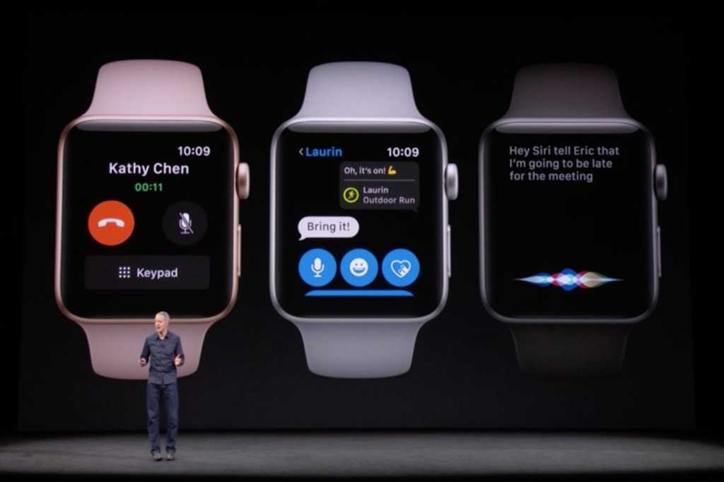 apple watch series3 iphonex event