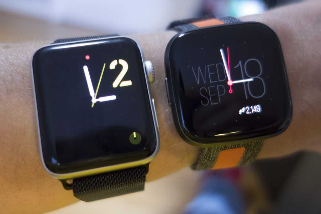 apple watch versa faces