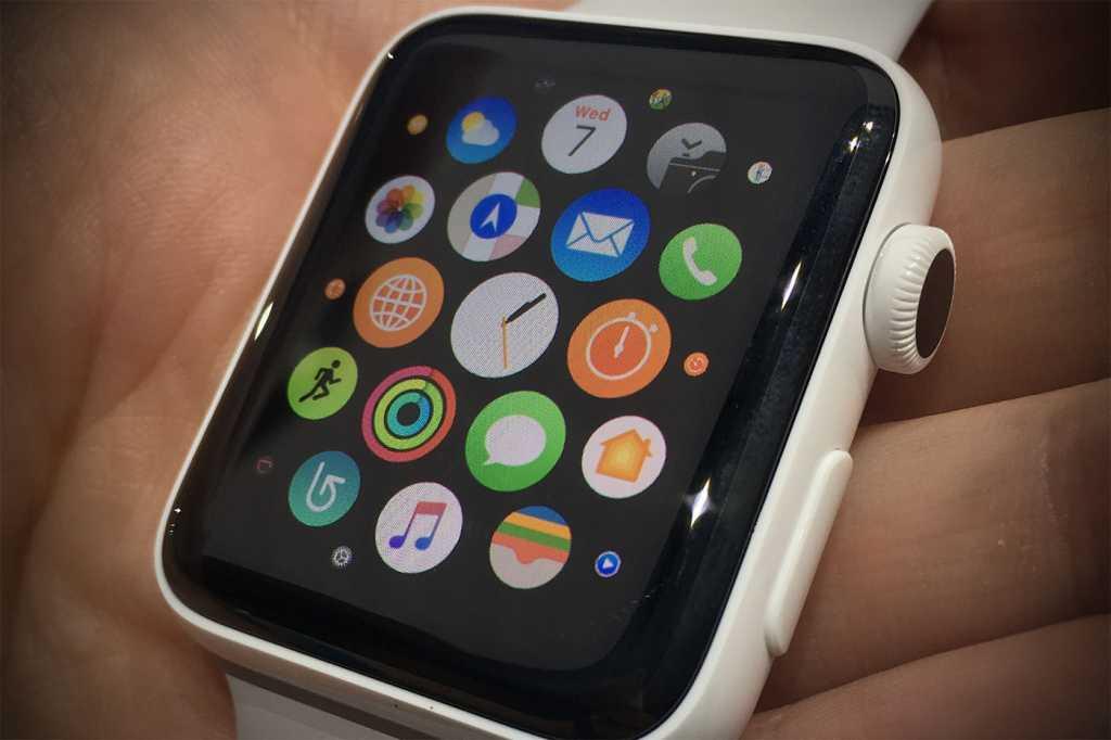 applewatch close up