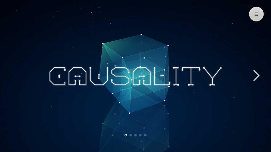 causality main screen