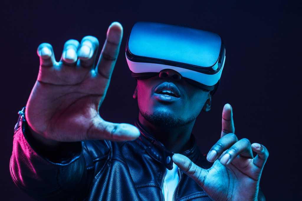 VR / virtual reality headset