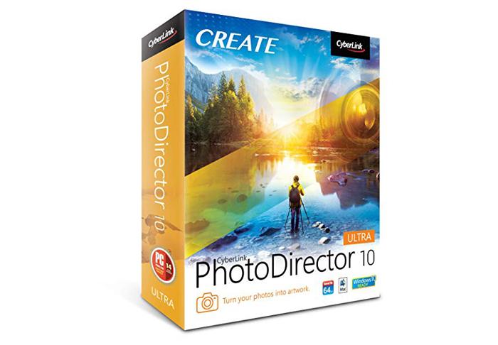 cyberlink photodirector 10 ultra box