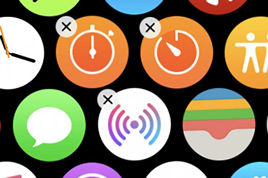 delete apps watchos6 primary