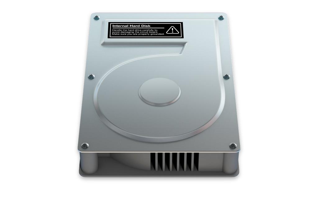 Mac hard drive icon