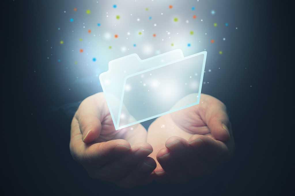 file folder storage and sharing