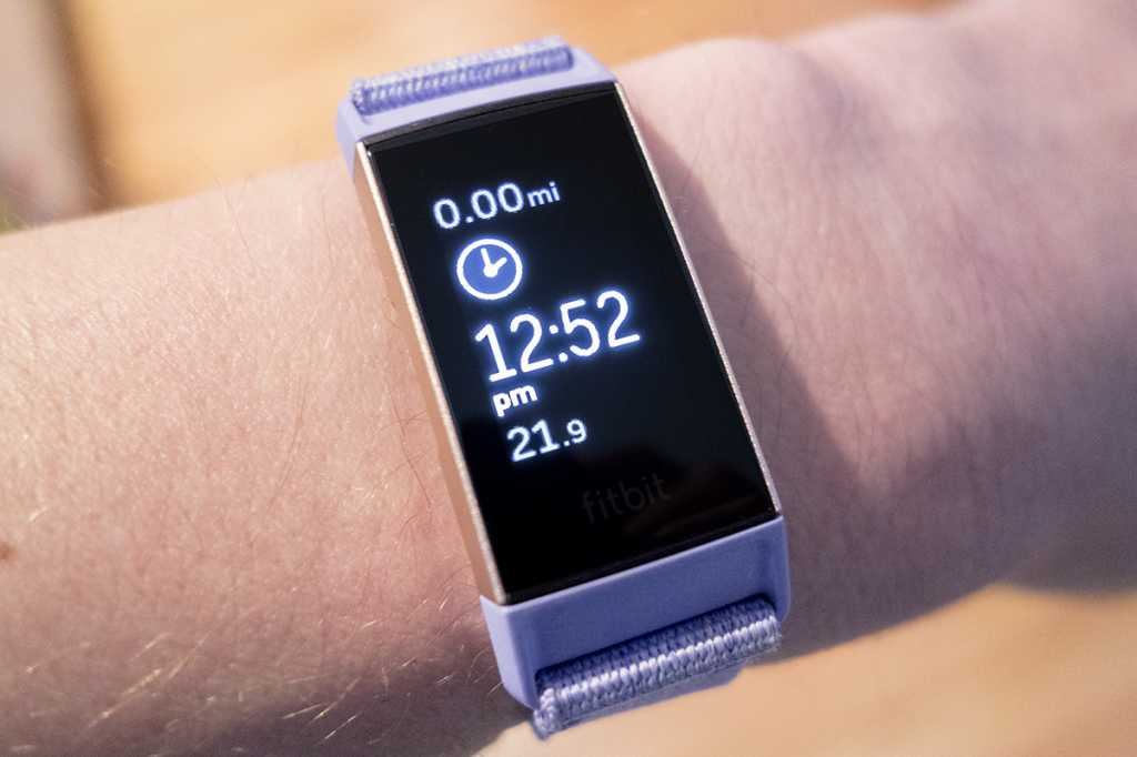 fitbit charge 3 exercise