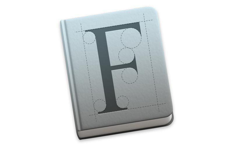 font book sierra icon