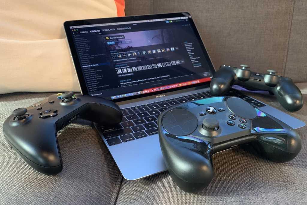 game controllers macbook