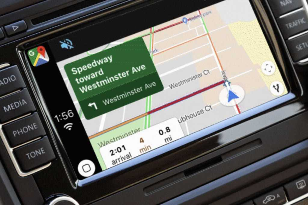 google maps carplay primary