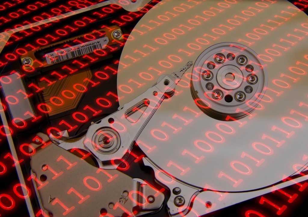 hard drive data pixabay