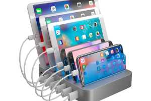 This 6-port USB charging station is now less than $30