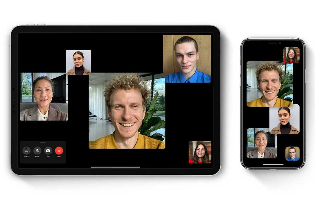 how to use group facetime ios ipados