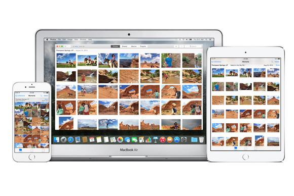 icloud photo library hardware