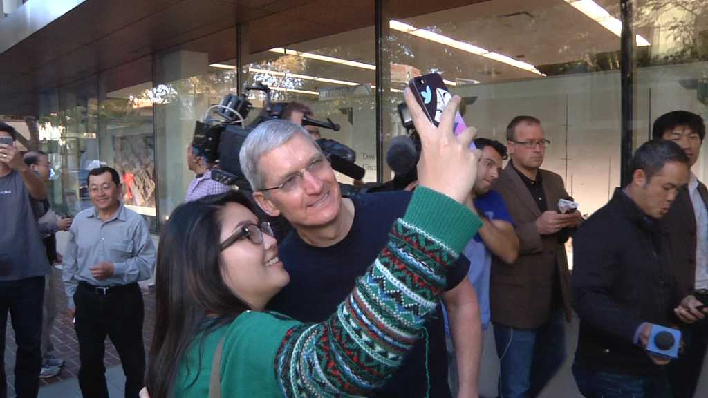 Tim Cook at iPhone 6 launch