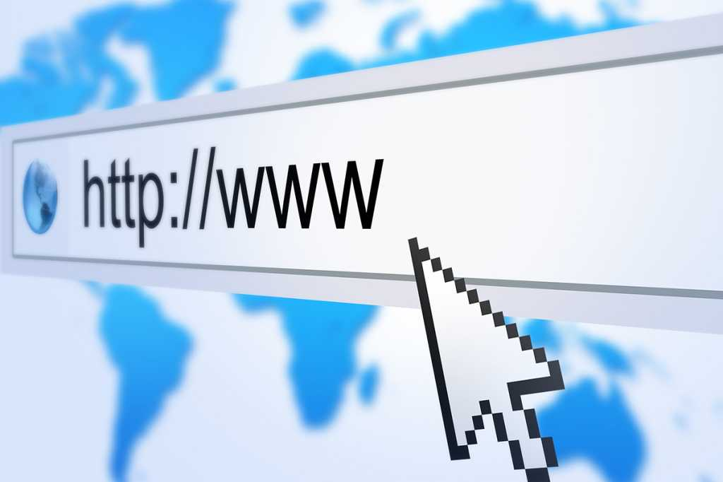 internet web browser address bar