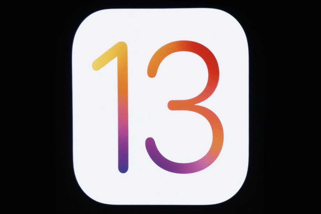 ios 13 logo apple