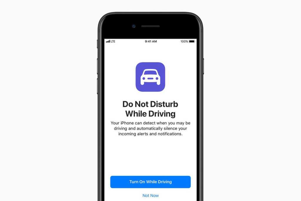 ios do not disturb while driving
