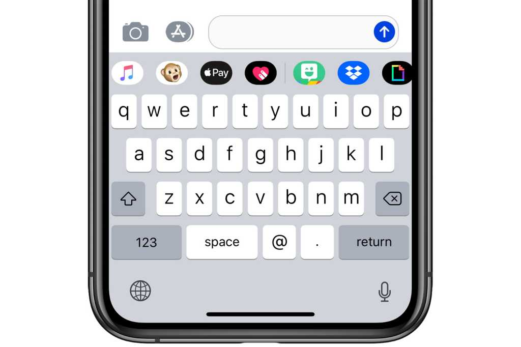 ios12 app drawer messages