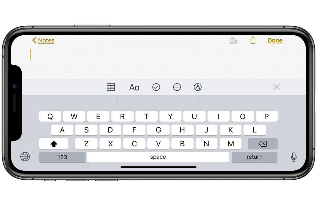 ios12 keyboard iphone