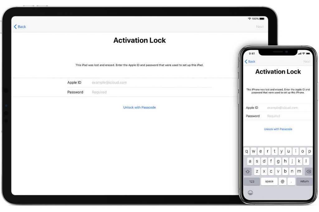 ios13 ipad iphone activation lock